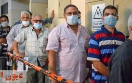 إقبال كبير من المواطنين على مركز تطعيم لقاح كورونا بمديرية الصحة بالشرقية