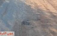 طرق قرية شنبارة منقلا مقبرة تهدد أرواح الأهالي بالشرقية