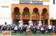 رئيس جامعة الزقازيق يشهد حفل إستقبال الطلاب الجدد والقدامى للعام الدراسى الجديد