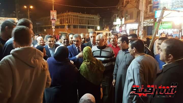 جولة المرشح مجدي عاشور في شوارع الزقاويق