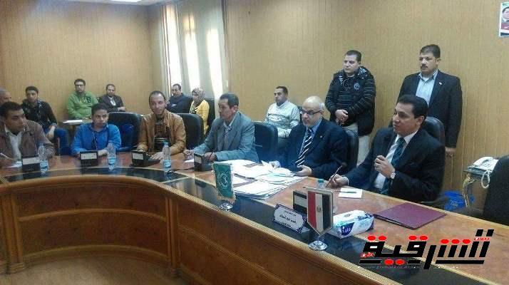 محافظ الشرقية : الشباب عصب التنمية وأمل مصر فى البناء والتغيير