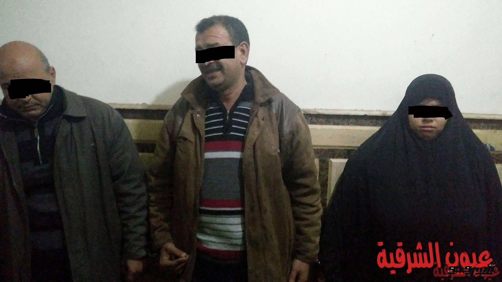 القبض على مدرس وربة منزل فى شقة للدعارة بمنيا القمح يديرها موظف بالتأمينات الإجتماعية