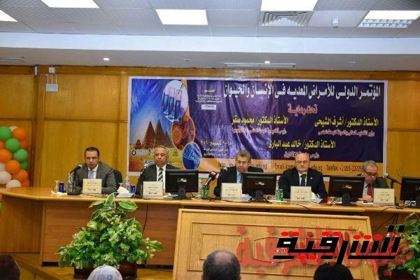 وزير التعليم العالي ومحافظ الشرقية ورئيس جامعة الزقازيق يشاركون في فعاليات مؤتمر