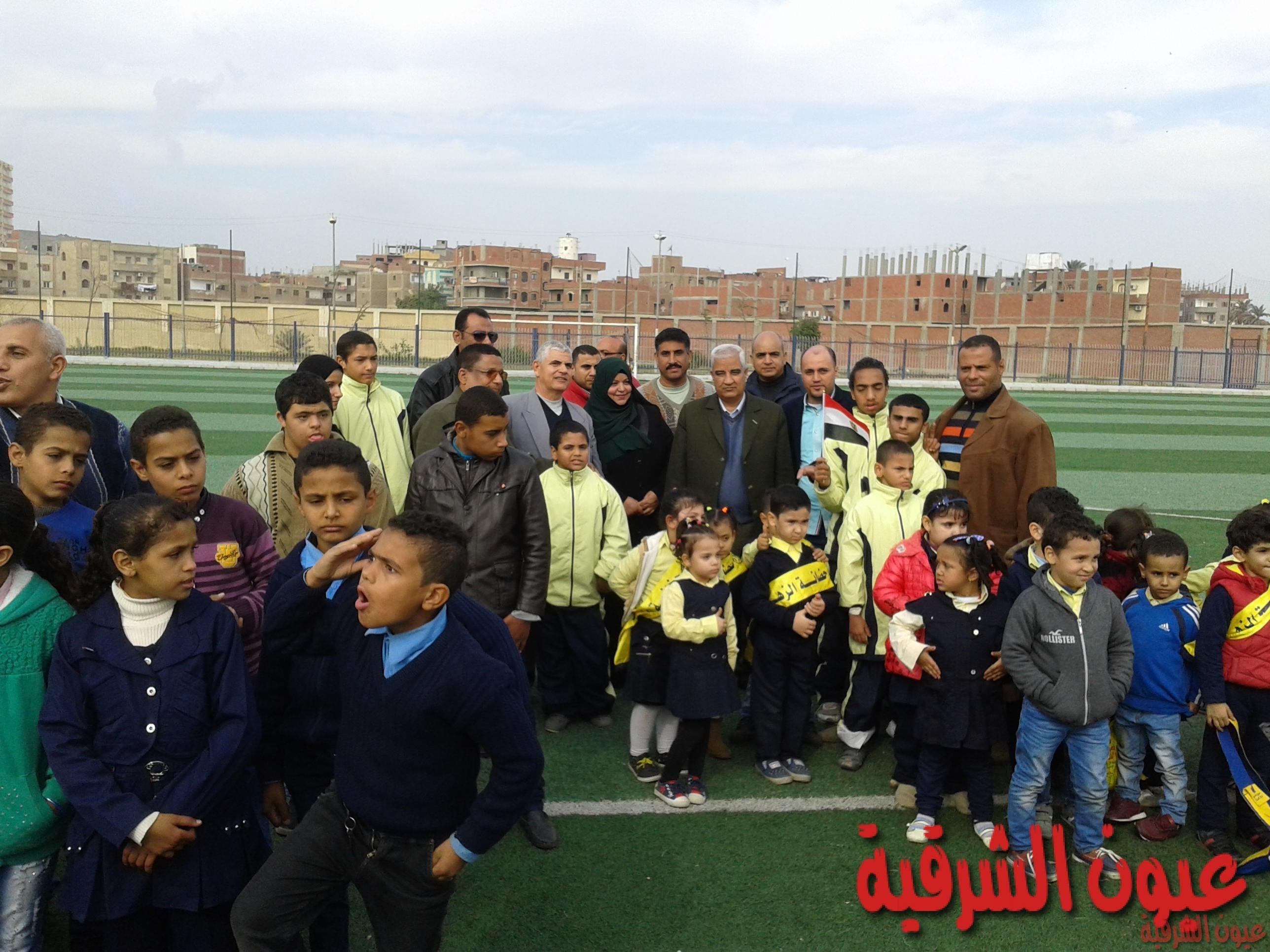 إحتفالات بيوم المعاق وعيدالطفولةبمركز شباب أبوحماد