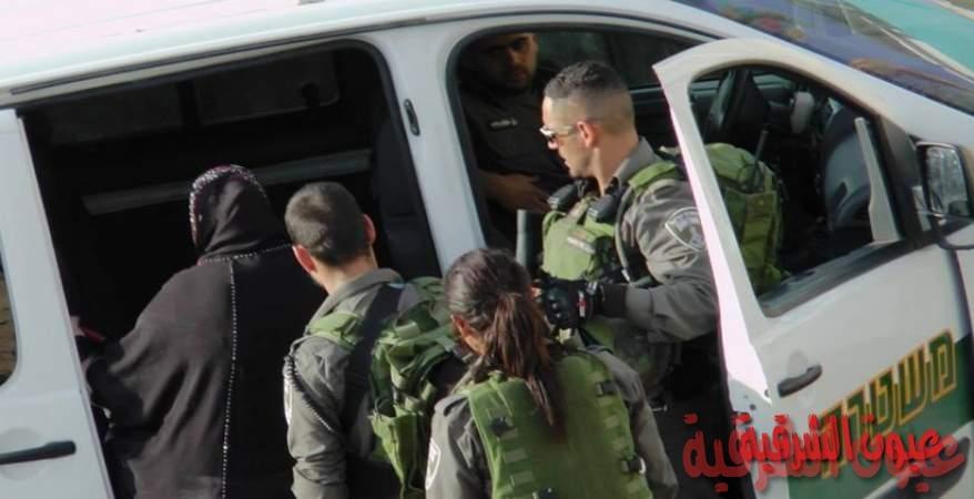 الاحتلال يعتقل فلسطينية بزعم تنفيذها عملية طعن شمال القدس