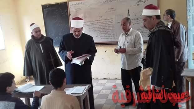 رئيس منطقةالشرقية الأزهرية يفاجئ معاهد ابوكبير وفاقوس