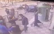 شاهد.. أمين شرطة ينقذ طفلا سقط من الطابق الرابع