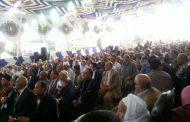 مؤتمر جماهيري لدعم الرئيس السيسي في أولاد صقر (صور)