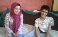 علاء أحد ذوي الإحتياجات الخاصة ومن أوائل الثانوية العامة بفاقوس