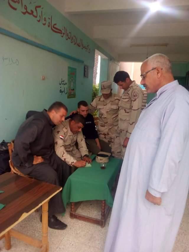 الوحدة المحلية بسواده إستعدت للإستفتاء علي التعديلات الدستورية
