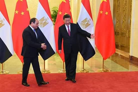 بكين : الرئيس السيسى يعقد جلسة مباحثات مع نظيره الصيني بقاعة الشعب الكبرى