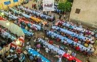 أهالي قرية مهدية بههيا يلمون الشمل في أول مائدة إفطار جماعي بالقرية