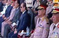 الرئيس السيسي يشهد تخرج دفعة جديدة من معهد ضباط الصف المعلمين بأبوحماد