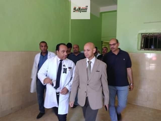 وكيل وزارة الصحة يتابع سير العمل بمستشفيات ههيا وفاقوس