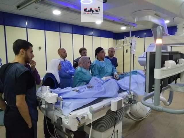 لأول مرة بالشرقية.. إجراء عمليات قسطرة القلب بمستشفى الزقازيق العام