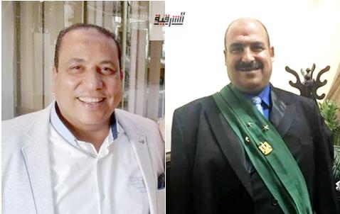 المهندس عمرو عبدالسلام  يهنئ المستشار هانى نجاتى  لنجاح وتفوق نجله بالثانوية العامة