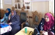 ندوة تثقيفية صحية بالثقافة الصحية بمركز ههيا