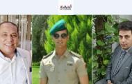 المهندس عمرو عبدالسلام يهنئ الدكتور عبدالله أباظه لتخرج نجله من الكلية الحربية