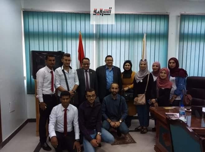 برنامج تدريبي مميز لطلاب الجامعات العربية بهندسة الزقازيق