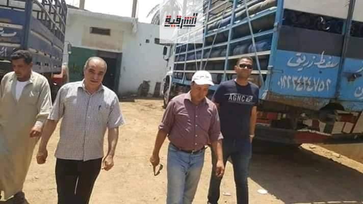 حملات مكثفة على مستودعات الغاز بديرب نجم