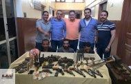 ضبط ورشة لتصنيع السلاح يديرها حداد ونجليه بمركز الزقازيق