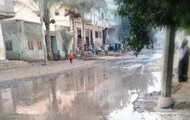 تقاعس مسؤولي الصرف الصحي بمركز ومدينة ديرب نجم يهدد حياة المواطنين