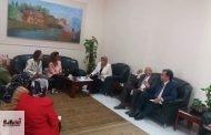 رئيس جامعة الزقازيق تستقبل ممثلي صندوق الأمم المتحدة للسكان