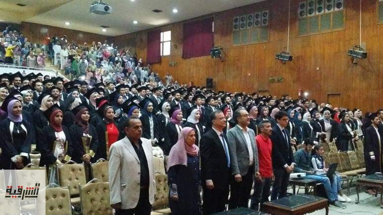 هندسة الزقازيق تحتفل بتخريج دفعة 2019 مدني