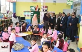 محافظ الشرقية يباشر سير العمل بمدرسة الشهيد حمدي الإبتدائية بالجديدة بمنيا القمح
