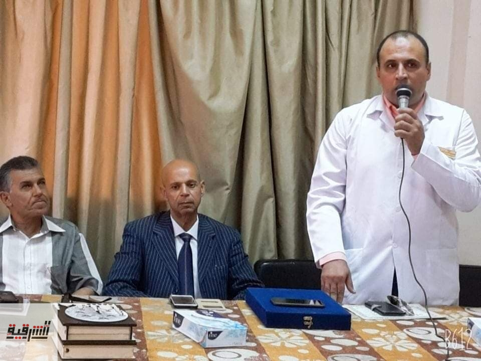 تكريم الأطباء وهيئة التمريض بمستشفى ابوحماد المركزي