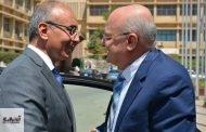 في لقاء ودي عبد الباري يهنئ شعلان برئاسة جامعة الزقازيق