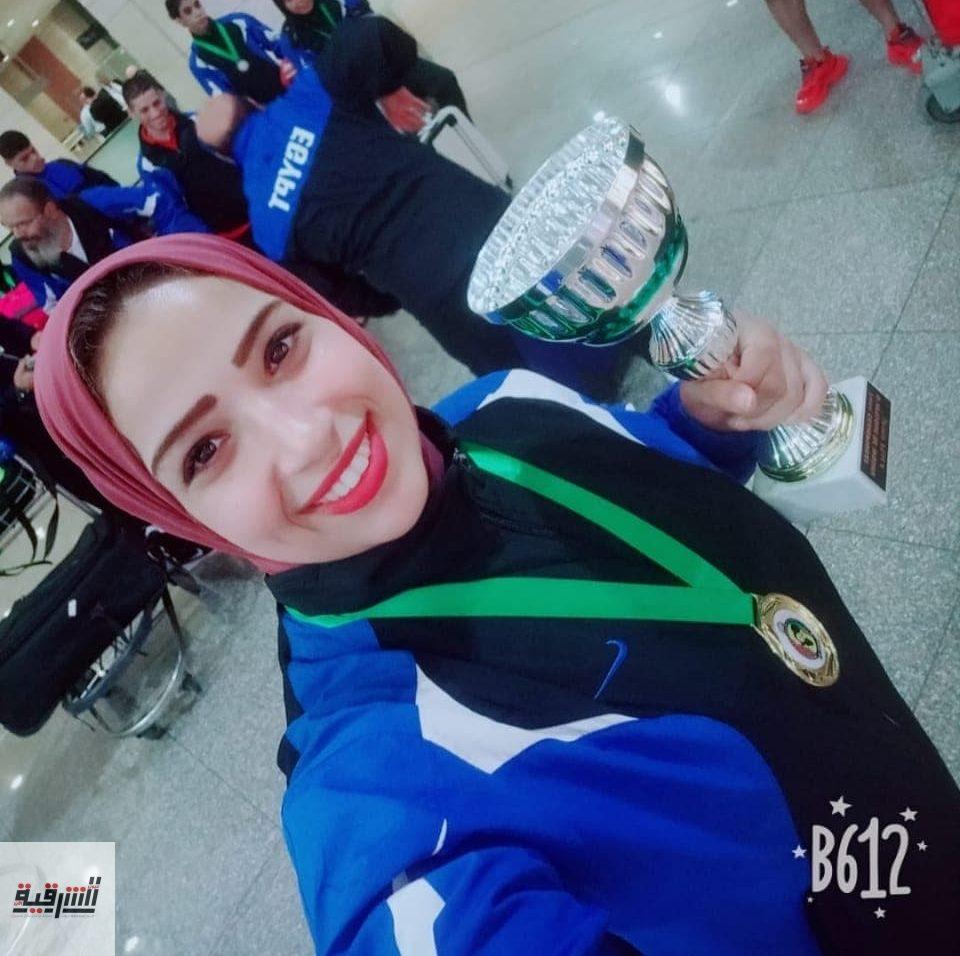 بنت الشرقية تحصل علي المركز الأول عالمياً في بطولة الكونغ فو