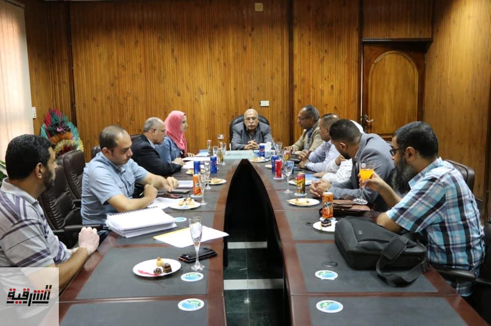 اتفاقية لرفع كفاءة محطات الصرف الصحى باولاد صقر