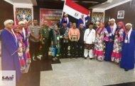 تكريم فرقة الشرقية للفنون الشعبية في المهرجان الدولي للفنون بولاية تانجيرانج بدولة إندونيسيا