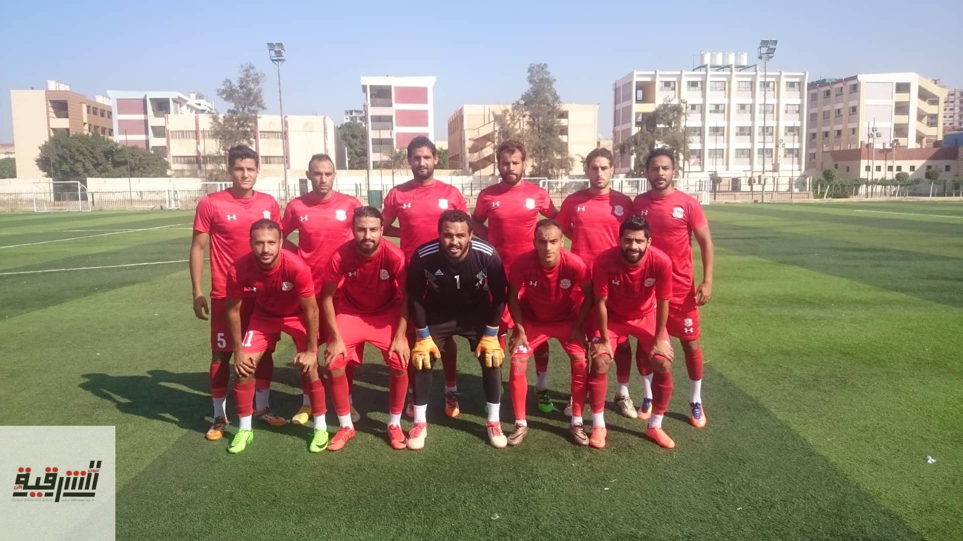 الشرقية يفوز علي أبوكبير بهدفين مقابل هدف