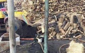 حملة إزالة لمكامير الفحم مكمورة المخالفة بمركز ومدينة بلبيس