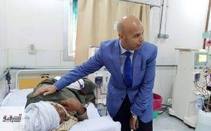 مسعود يستقبل مستشارة وزيرة الصحة بمستشفي فاقوس النموذجي