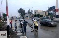 أمطار غزيرة تجتاح الشرقية وإنقطاع التيار الكهربائي في عدد من قري ومراكز المحافظة
