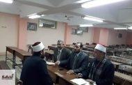 إنعقاد لجنة إختبار مسابقة المولد النبوي الشريف بأوقاف الشرقية