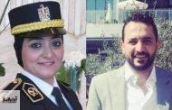 الاستاذ أحمد ماهر يهنئ شقيقته الرائد مها لتكريمها من الرئيس السيسي