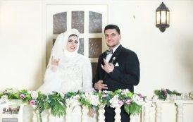 تهنئة بالزفاف السعيد للمهندس محمد صلاح والصحفية شيماء رأفت منتصر | صور