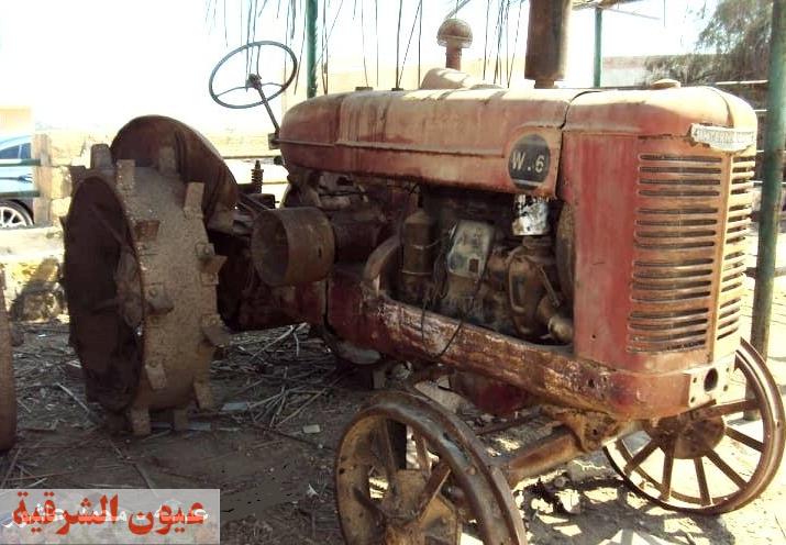 صور نادره لااقدم جرار زراعي في مصر