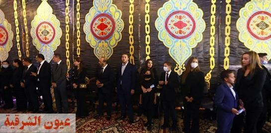 وزراء سابقون وكبار رجال الدولة ورموز سياسية يشاركون فى عزاء رجل الأعمال محمد فريد خميس
