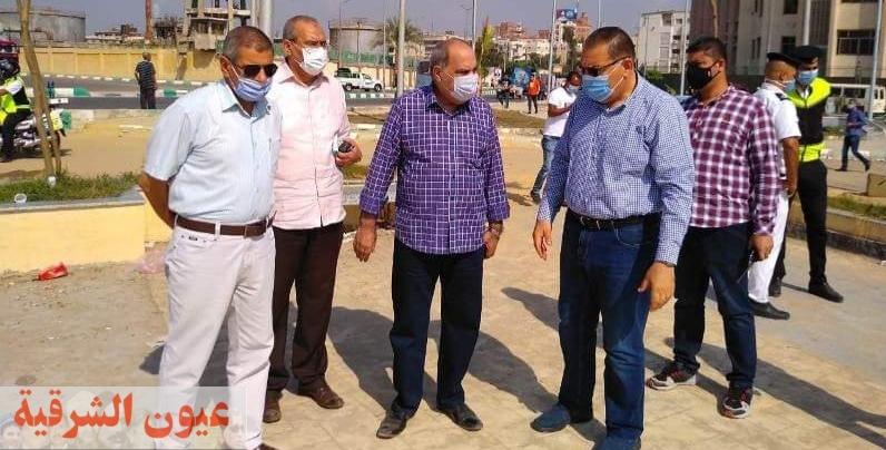 محافظ الشرقية يُشدد على سرعة الإنتهاء من تنفيذ المرحلة الثانية للممشي السياحي بمدينة الزقازيق