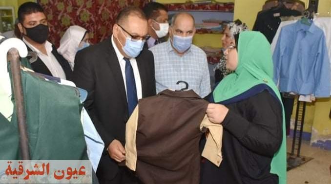محافظ الشرقية يزور مقر جمعية الأسرالمنتجة بمدينة الزقازيق..ويستمع لمشاكل المواطنين