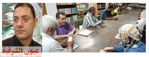 أمسية أدبية بنادي أدب منصور حسن بقصر ثقافة ابو كبير،بحضور شعراء من نادي أدب الزقازيق