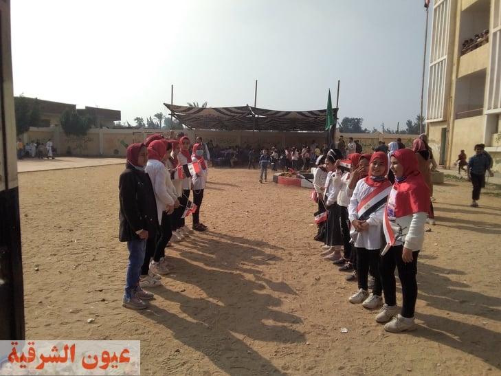 مدرسة اولاد سالم للتعليم الأساسي بقرية الحرية بمحافظة الشرقية (2)