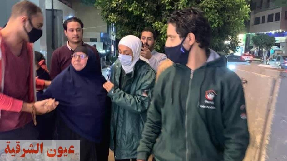 وزيرة التضامن الإجتماعى تتعاطف مع السيدة نعمات