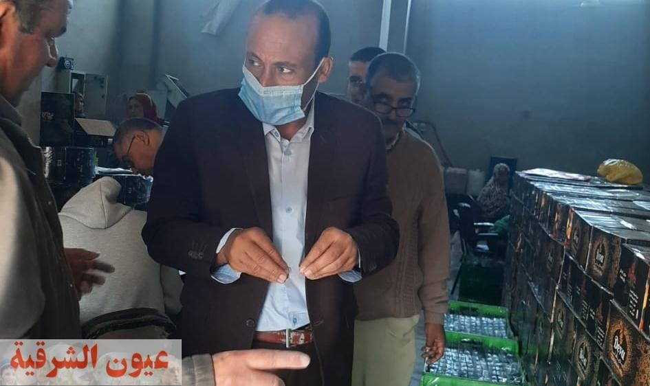 نائب رئيس مركز ومدينة ههيا يضبط مصنع صابون مخالف بقرية السكاكرة