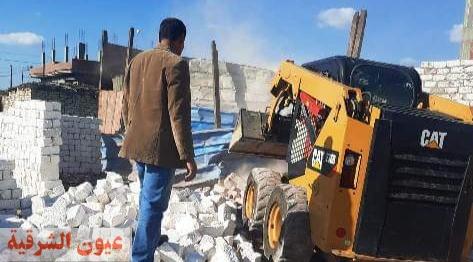 رؤساء مراكز ومدن الشرقية يوجهون ضربات موجعة للمعتدين على الأراضي الزراعية ومخالفات البناء العشوائي